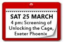 Screening of Unlocking the Cage