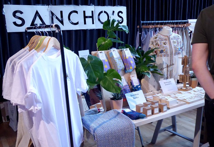 Sancho's - Exeter Vegan Market, 13th October 2018, Exeter Corn Exchange 10-2pm