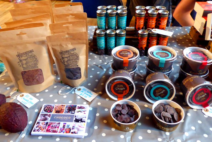 Chococo - Exeter Vegan Market, 13th October 2018, Exeter Corn Exchange 10-2pm