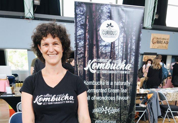 Curious Kombucha - Exeter Vegan Market