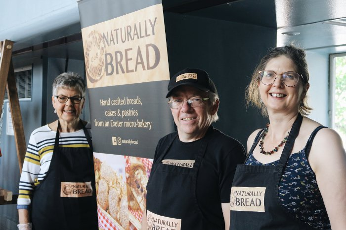 Naturally Bread - Exeter Vegan Market
